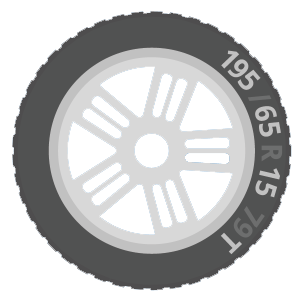 tyre sidewall graphic