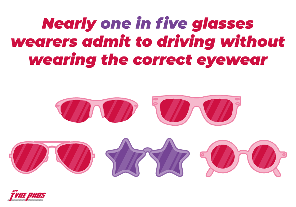 1 in 5 drivers don't wear the correct glasses